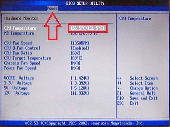 temperatura processora1